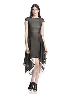 GARETH PUGH Women's Short Sleeve Dress (Black)