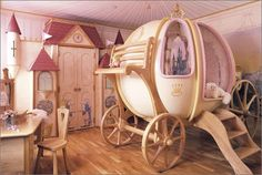 A real Disney Princess room, would have loved this as a kid..heck i still want this room!