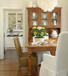 Trenna Travis Cottage Style House Dining Room by meghan