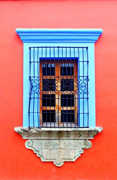 Oaxaca, Mexico by Mexican Colors, Mexican Style, Fred Instagram, Fachada Colonial, Through The Window, Perfect World, Spanish Style, Mexico Travel, Windows And Doors
