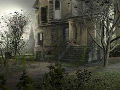 Spooky House - Pixdaus