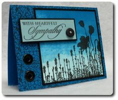 Masculine Sympathy by ejkeaton - Cards and Paper Crafts at Splitcoaststampers