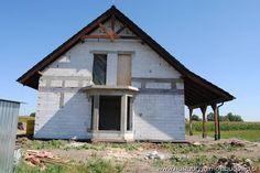 elewacja boczna  #dom #budowa #projekt
