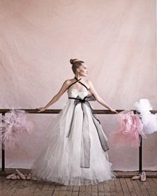 Draw your inspiration from the quiet, graceful beauty of the ballet, and turn your bridal debut into a spotlight performance worthy of a standing ovation.See our ballet dancers and models in action. Watch the behind-the-scenes video of our fashion photo shoot.
