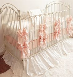 Precious! Love this crib, too!