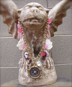 Pirate Royalty Necklace by StarfishStratagies on Etsy, $50.00