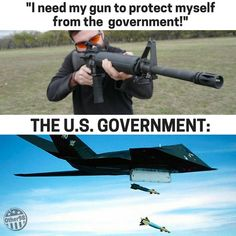 This about says it all. If your government is gonna nail you, you have no chance (And the army? It's staffed by YOUR sons and daughters!)