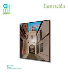 Callejón Vectorización con Illustrator