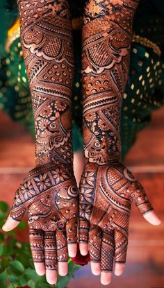 Awesome Bridal Mehandi Designs for Beautiful Brides – Mehandi Designs 2020