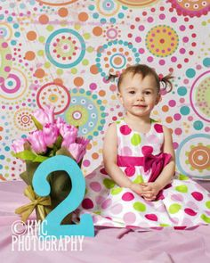 two year girl pictures - KMC Photography