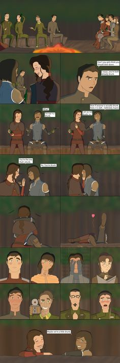The legend of Drunk Korrasami by Frostycone.deviantart.com on @DeviantArt