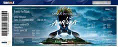 """Torna l""""atmosfera magica del Cirque du Soleil sotto lo Chapiteau! Acquista il tuo biglietto a prezzo speciale entro il 24 novembre!"""