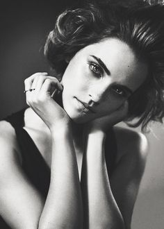 Emma Watson, British GQ by Vincent Peters