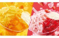 ミスド、夏スイーツ「コットンスノーキャンディ」に白桃を加え今年も発売。
