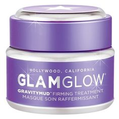GLAMGLOW 'GRAVITYMUD' Firming Treatment ($69) ❤ liked on Polyvore featuring beauty products, skincare, face care, beauty and no color