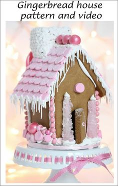It's Written on the Wall: Christmas Gingerbread houses-Patterns, Video Tutorial plus Lots of Ideas