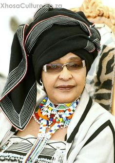 South African anti-apartheid activist Winnie Mandela has died. at the age of Winnie was formerly married to anti-apartheid activist and South Africa's first black President Nelson Mandela for 38 years, 27 of those years during his imprisonment. Xhosa Attire, African Attire, African Wear, African Women, African Dress, African Style, African Print Fashion, African Fashion Dresses, African Prints