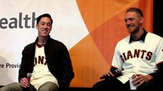Hunter Pence and Tim Lincecum Impressions of Each Other During 2013 SF Giants Fan Fest - YouTube