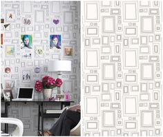 You can draw on this wallpaper!