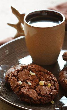 This is a delicious ginger caramel cookie from Iambaker.net, inspired by our Ginger Snap Cookie Mocha!
