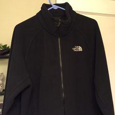 North face fleece men's jacket Brand new only tried on ! Black men's north face jacket The North Face Jackets & Coats