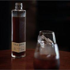 _ TRUNK COFFEE .  .  COLD BREW  .  ルワンダのコールドブリュー  とてもおいしかった  そして瓶が素敵過ぎる  この瓶が欲しい  .  . by naomigration