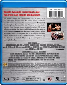 Action Double Feature: Bloodsport / Timecop Blu-ray