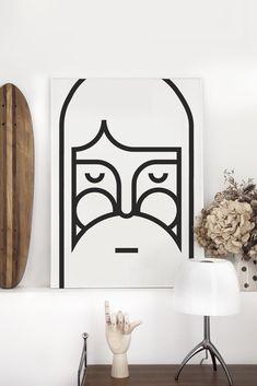 silkscreen print on 300 gr. Made by hand in Barcelona by Emil Kozak. Silk Screen Printing, Art Prints, Handmade, Shopping, Home Decor, Atelier, Screen Printing Press, Art Impressions, Screen Printing