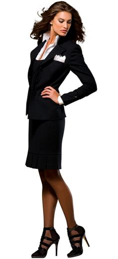 Chic Professional Woman Work Outfit. Susanna Beverly Hills