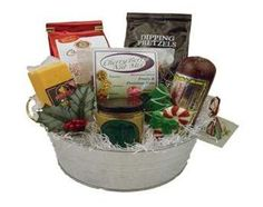Holiday Cheese and Sausage Gift Bucket #WisconsinMade