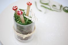 joy ever after :: details that make life loveable :: - Journal - weekend craft // toadstool pencils