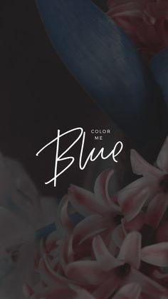 Blue - Troye Sivan Lockscreen by Kaespo