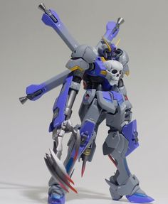 GUNDAM GUY: HGBF 1/144 Crossbone Gundam Cerberus - Customized Build