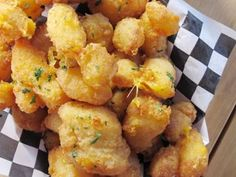 Wisconsin Cheese Curds with Dill Pickle Tartar Sauce - unique eats - brave house tavern