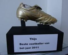 Voetbalsurprise als een prijs die de ontvanger gewonnen heeft.