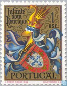 """Portugal [PRT] - Navigator Henry 500j 1960 - Infante  D. HENRIQUE (1394-1460), 5ª filho do Rei D. João I e de D. Filipa de Lencastre, um dos membros da chamada """"Ínclita Geração"""". Dedicou sua vida à expansão marítima de Portugal."""