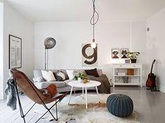 Heerlijk licht appartement voor het hele gezin in Stockholm