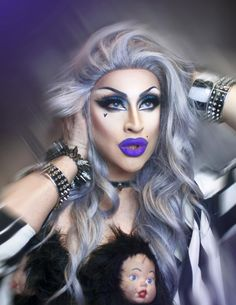New York's Drag Queen Shows for over 20 YEARS! Dinner, Drinks & Drag Show nightly. Celebrate your birthday or bachelorette party at Lips NYC Drag Queen Makeup, Drag Makeup, Eye Makeup, Drag Queens, Drag King, Girls Be Like, Simply Beautiful, Costume, Queens