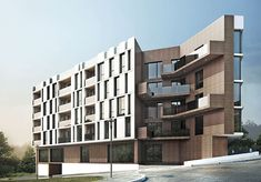 Residential Block in Varna, Bulgaria by STARH Stanislov Architects