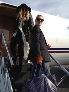 flying off our private jet for our honeymoon ultimate first class for two new wives! :)