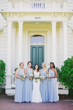 Summer wedding loveliness: http://www.stylemepretty.com/little-black-book-blog/2014/08/11/intimate-rustic-garden-wedding-at-rengstorff-house/ | Photography: Closer to Love - http://closertoloveblog.com/