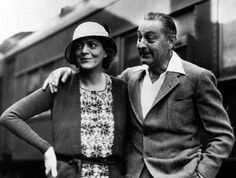 Ethel Barrymore with brother John Barrymore – Los Angeles May 1932