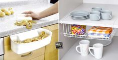 Accessori furbi per ottimizzare la cucina! Eccone 15... Date un'occhiata!