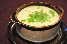 Blumenkohlsuppe mit Käse (Kartoffel weglassen)