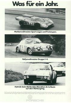 VW Porsche affich poster