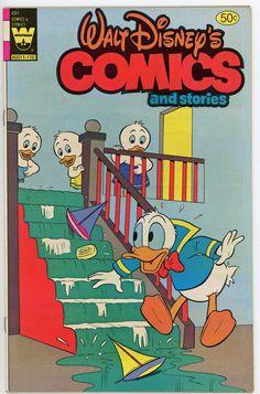 Vintage Disney Comic book Whitman Publications  Walt Disney Comics and Stories # 491   Near Mint condition, 90a
