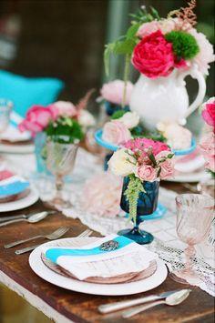 Photography + Cinematography: Picotte Weddings - www.picotteweddings.com Event Design: Events by Heather Ham - www.eventsbyheatherham.com Floral Design: Peony + Plum - www.peonyandplum.com  Read More: http://www.stylemepretty.com/2011/02/18/vintage-english-garden-wedding-inspiration/