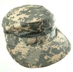 bbabe9b3f70 Details about SEKRI S NEW US ARMY Digital Camo HAT ACU Patrol CAP Size 7  1 4 w  Map Pocket