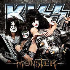 """Así será la tapa de """"Monster"""", el nuevo disco de KISS que saldrá a la venta el 15 de octubre y con el que la banda festejará sus 40 años de ruta"""