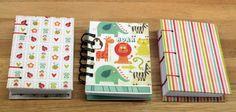 Mini Cuadernos temática infantil, cosido copta y en anillas, A7